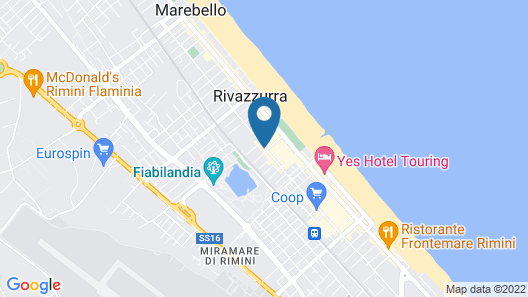 Noi Due Hotel Map