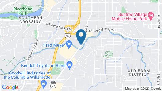 Super 8 by Wyndham Bend Map