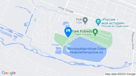 SPA-Hotel Parus Map