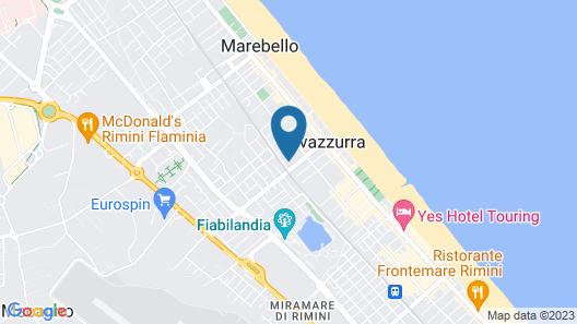 Hotel Eureka Map
