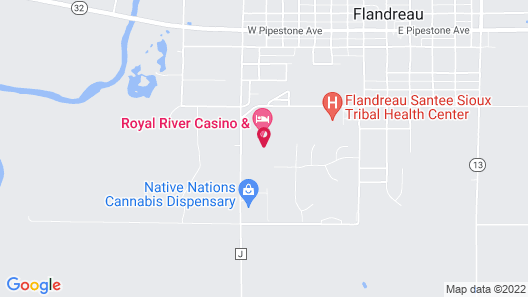 Royal River Casino and Hotel Map