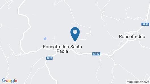 Quattro Passeri Map