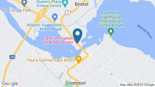 Lane's Privateer Inn Map