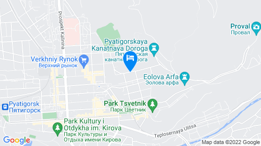 Hotel Mashuk Map