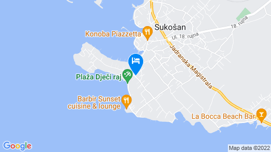 Villa Mirakul Map