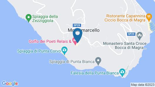 Golfo dei Poeti Relais & Spa Map