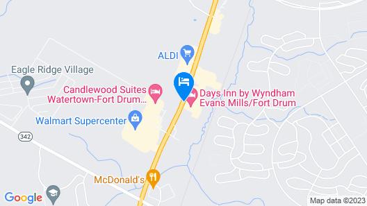 Days Inn by Wyndham Evans Mills/Fort Drum Map
