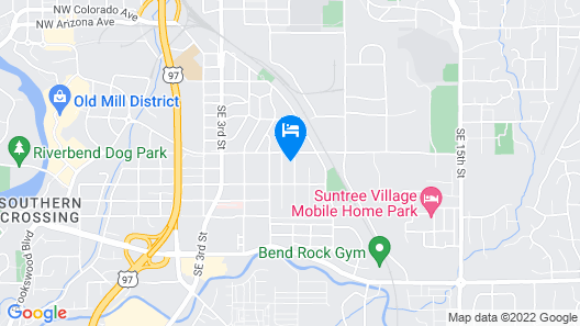 2 Bedroom Charmer in Quiet SE Bend Neighborhood Map
