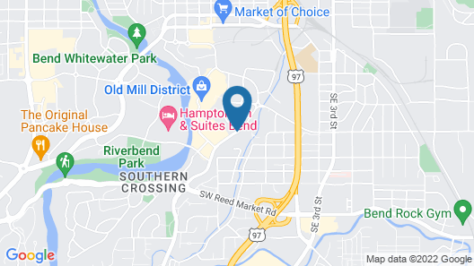My Place Hotel-Bend, OR Map
