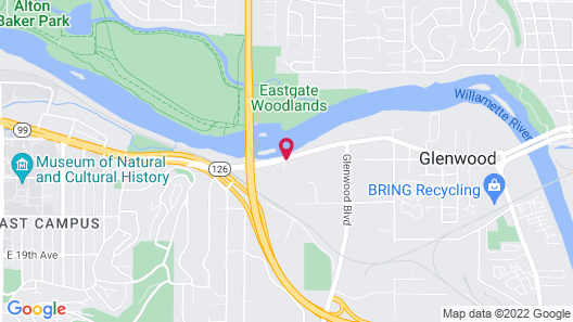 Candlewood Suites Eugene Springfield, an IHG Hotel Map