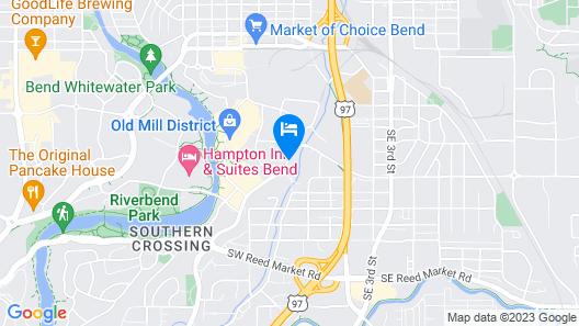 Residence Inn by Marriott Bend Map