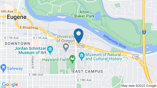 Best Western New Oregon Map