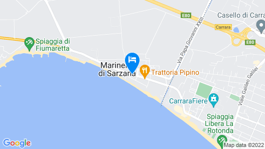 Hotel Rondine Map