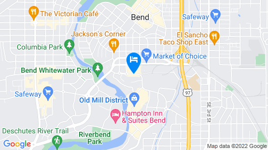 SpringHill Suites by Marriott Bend Map