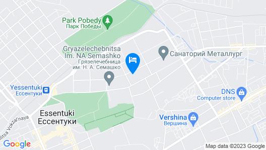 Hotel Espero Map