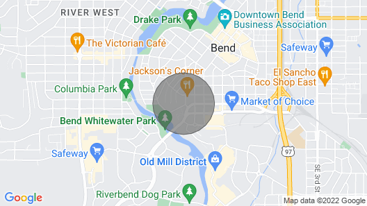 Location! Walk TO Downtown AND OLD Mill - ONE Bedroom ONE Block From THE River Map