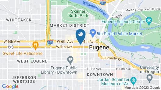 Graduate Eugene Map
