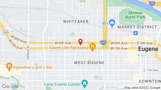 Express Inn & Suites Map