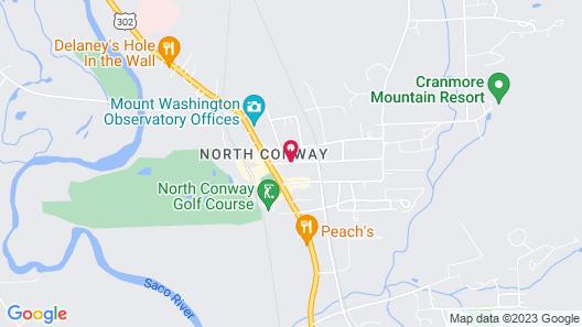 Cranmore Inn Map