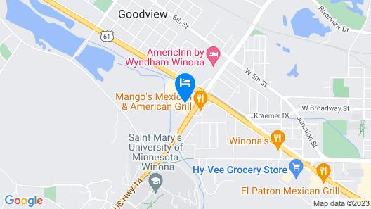 Days Inn by Wyndham Winona Map