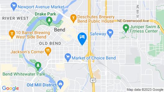 Bluebird Day - Hill Street Beauty - Walk or Bike Downtown, Pet Friendly, Hot Tub Map