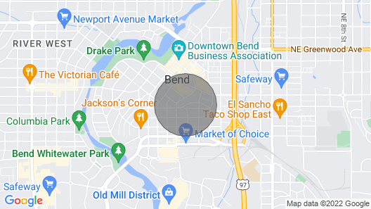 Stay In The Heart Of Bend, Walk Everywhere! New Hot Tub! Map
