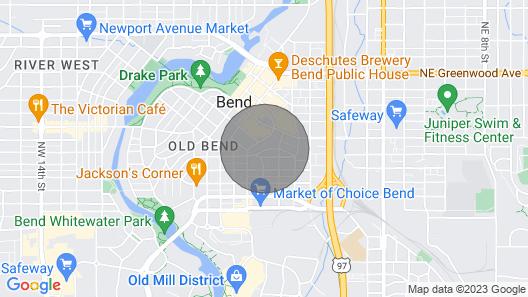 Downtown Bend Georgia Ave Getaway Map