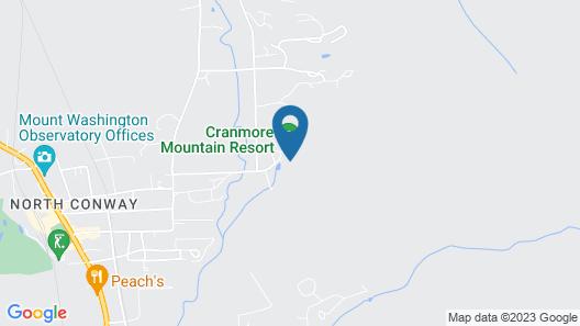 Kearsarge Brook Condominiums at Cranmore Map
