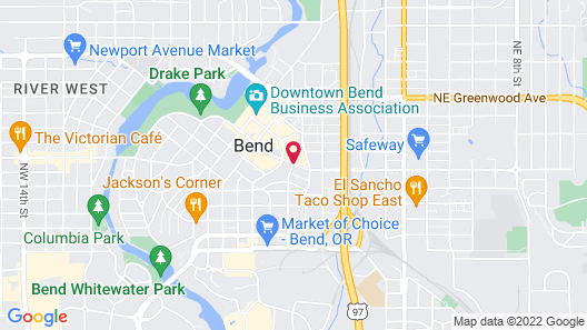 DoubleTree by Hilton Hotel Bend Map