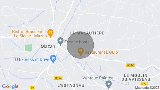 3 Bedroom Accommodation in Mazan Map