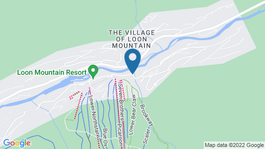 The Mountain Club on Loon Map
