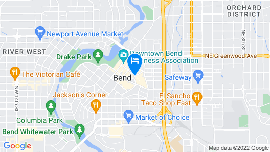 The Oxford Hotel Bend Map