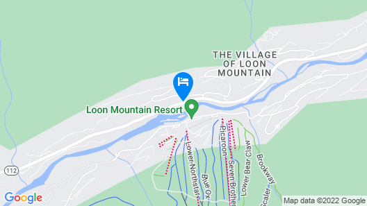 The Village of Loon Mountain Map