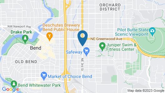 Days Inn by Wyndham Bend Map