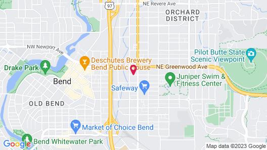 Motel West Map