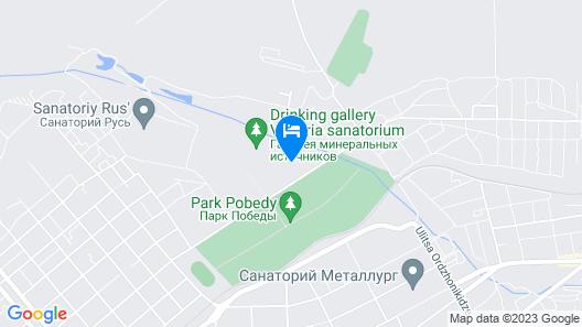 Apartments Park & House 8  Map