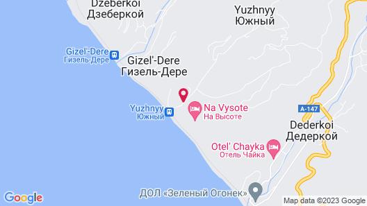 Pansionat Yuzhniy Map