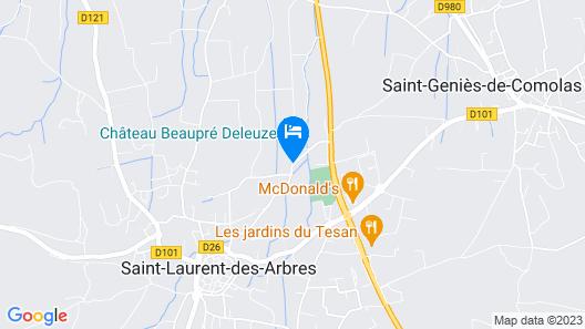 Château Beaupré Deleuze Map