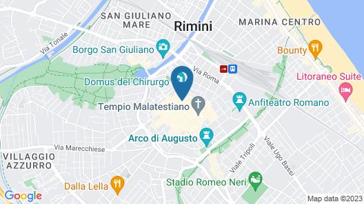 DuoMo hotel Map