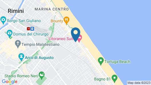 Hotel Radar Map