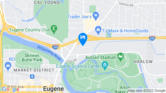 EVEN Hotel Eugene, an IHG Hotel Map