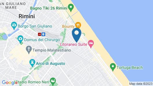 Erbavoglio Hotel Map