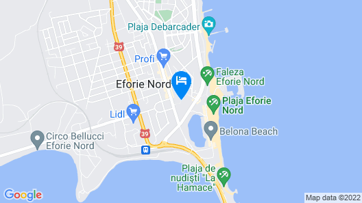 Ana Hotels Europa Eforie Nord Map