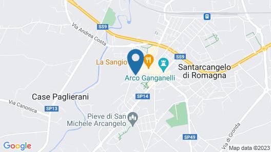 Castello Santarcangelo di Romagna Map