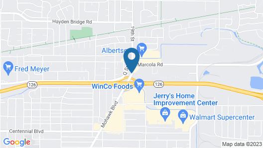 Village Inn Springfield Map