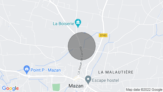 Bed and Breakfast Daube in the Heart of Vaucluse Map