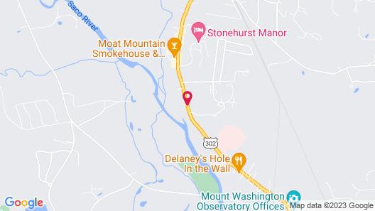 White Trellis Motel Map