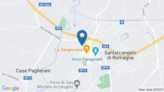 Hotel Il Villino Map