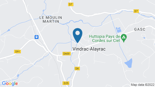 La Bastide de Cordes Map