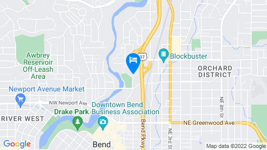 Fairfield Inn & Suites by Marriott Bend Downtown Map